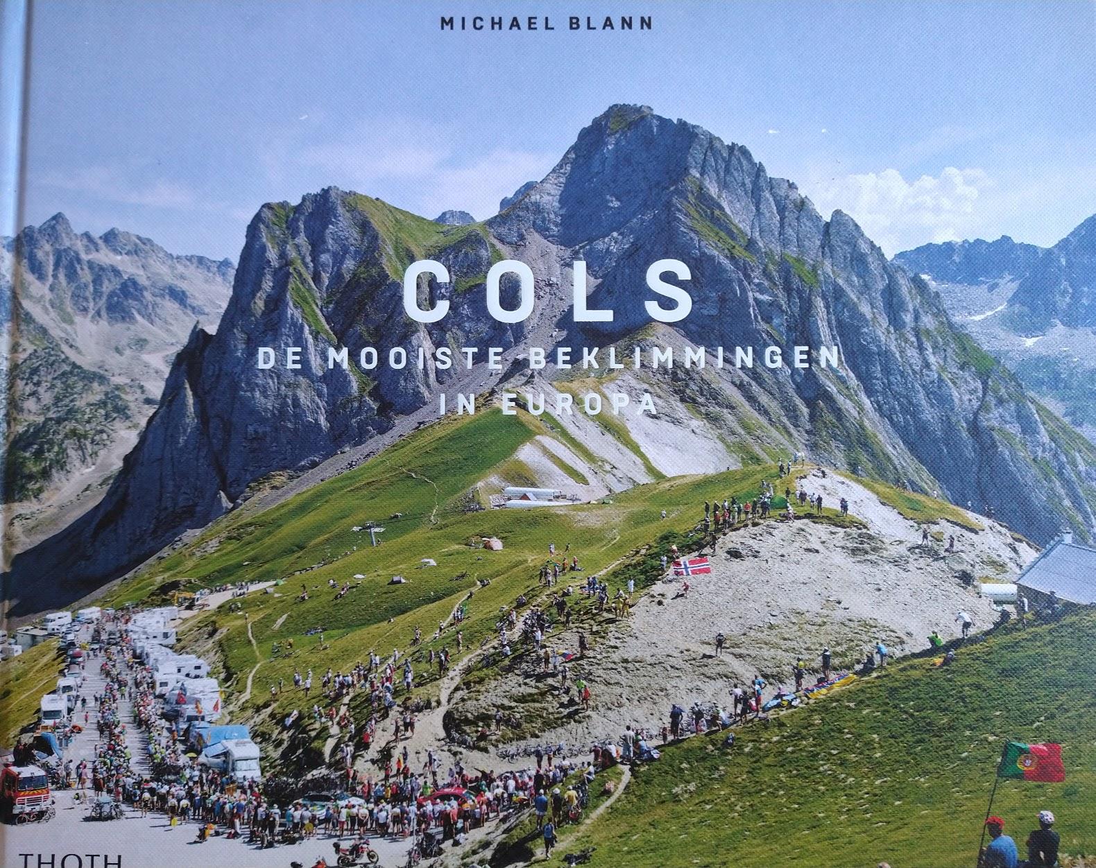 cover van cols de mooiste beklimmingen in europa